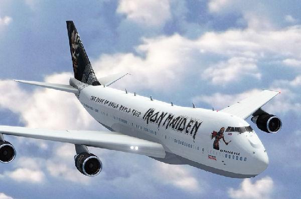Iron Maiden no puede aterrizar su avión en Dortmund porque es muy pesado