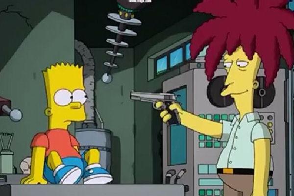 Finalmente, Bob Patiño mata a Bart Simpson… con música de Elvis Costello