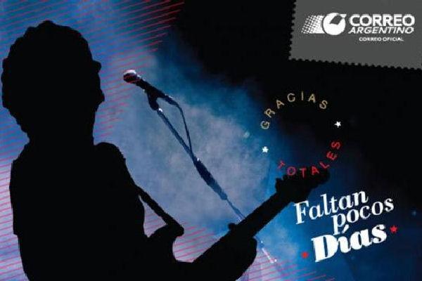 El correo lanza una estampilla en homenaje a Gustavo Cerati