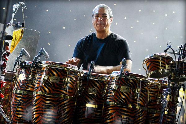 Falleció Raúl Rekow, percusionista de la banda de Carlos Santana