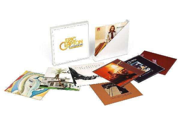 Reeditan en una caja los nueve primeros vinilos de Eric Clapton