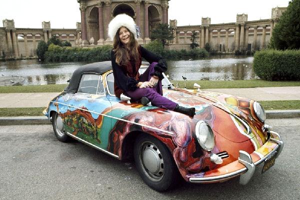 El Porsche de Janis Joplin, vendido a precio récord