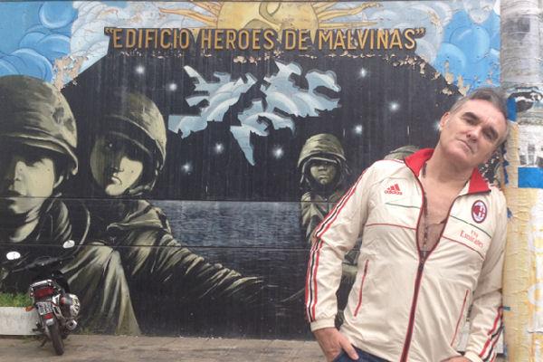 Morrissey: «Las Malvinas pertenecen al pueblo de Argentina»