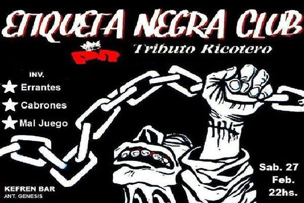 Etiqueta Negra regresa a San Nicolás con su «fiesta ricotera»