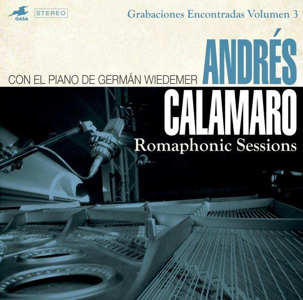 Andrés Calamaro muestra un repertorio despojado en «Romaphonic Sessions»