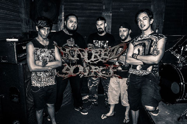 Rock Local: Hatred Source, «Tasting The Flesh Feast» (2014)