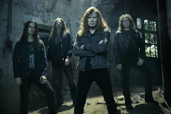 Megadeth comenzó oficialmente a grabar su nuevo álbum