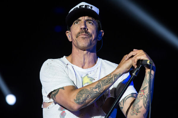 Internaron a Anthony Kiedis, cantante de Red Hot Chili Peppers