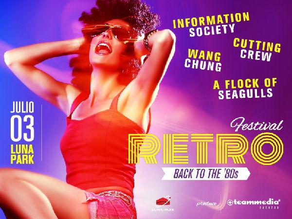 Information Society, Cutting Crew, Wang Chung y A Flock Of Seagulls se unen en el Festival Retro