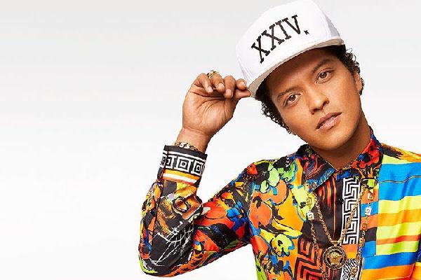 Bruno Mars actuará en noviembre en la Argentina