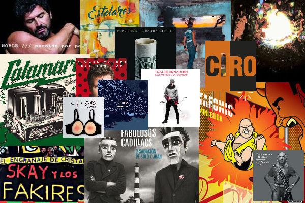 Los 16 discos nacionales fundamentales de 2016