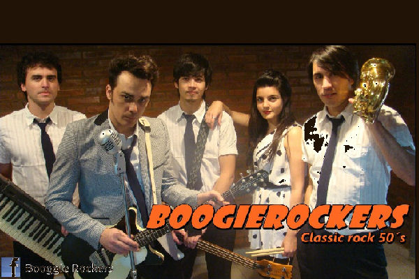 Boogie Rockers lleva su rock and roll clásico al Hall del Teatro