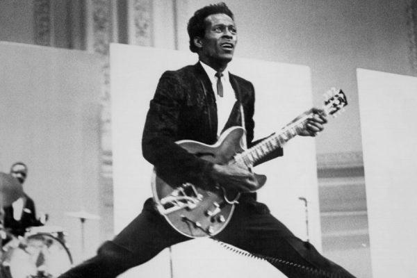 Los rockeros recordaron a Chuck Berry en las redes sociales