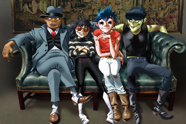 Gorillaz anuncia el lanzamiento de «Song Machine» y estrena el single «Strange Timez», con Robert Smith