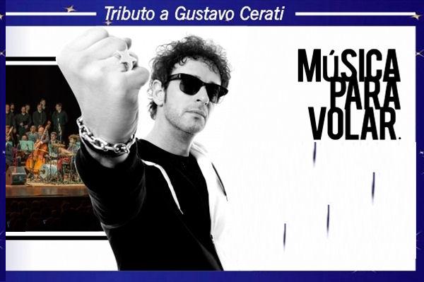 Música Para Volar presenta «Gustavo Cerati Sinfónico» en el Teatro Municipal