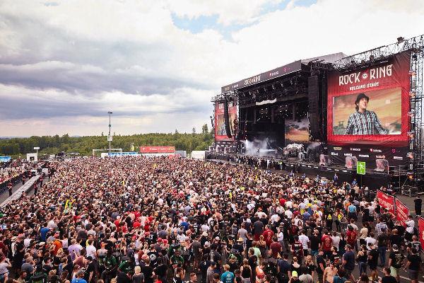Por una amenaza terrorista evacuaron al público del festival alemán Rock Am Ring