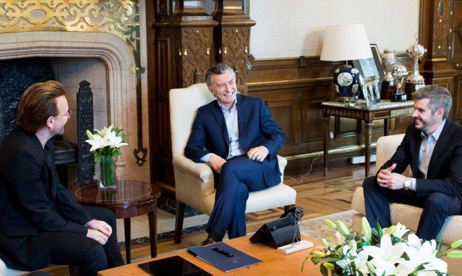 Bono: «Es muy injusto lo que está sucediendo en Argentina con la moneda»