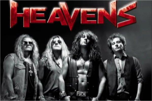 Heavens trae el hard rock de los 80 a Kultura Bar