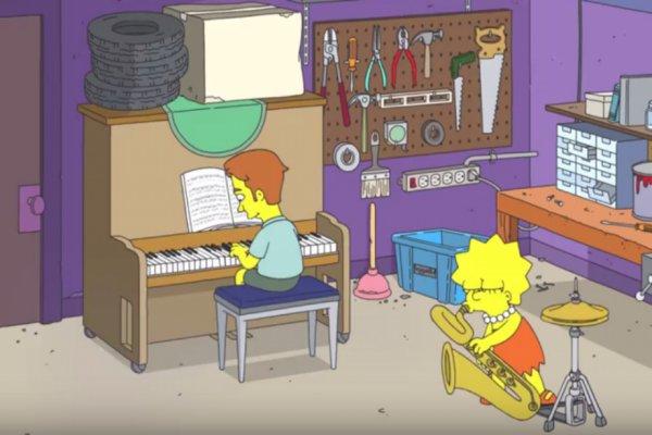 Ed Sheeran se suma a la lista de músicos aparecidos en Los Simpson