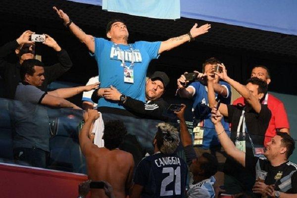 Los memes musicales de Maradona tras la victoria Argentina ante Nigeria