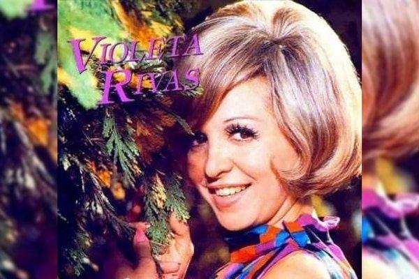 Falleció a los 80 años la cantante Violeta Rivas