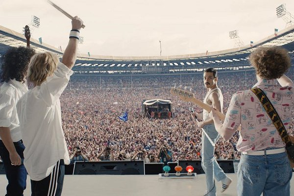 Otro adelanto de la biopic «Bohemian Rhapsody»: cómo Queen creó «We Will Rock You»