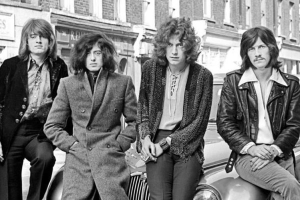 Led Zeppelin anuncia un documental por su 50º aniversario