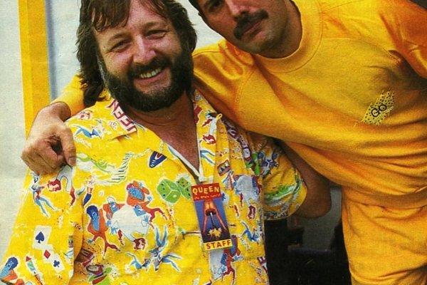 Murió Gerry Stickells, exmánager de gira de Queen, Paul McCartney y Jimi Hendrix