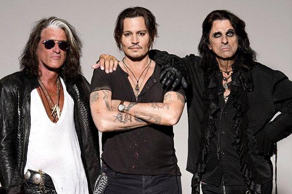 El supergrupo Hollywood Vampires anuncia su segundo álbum álbum y estrena single