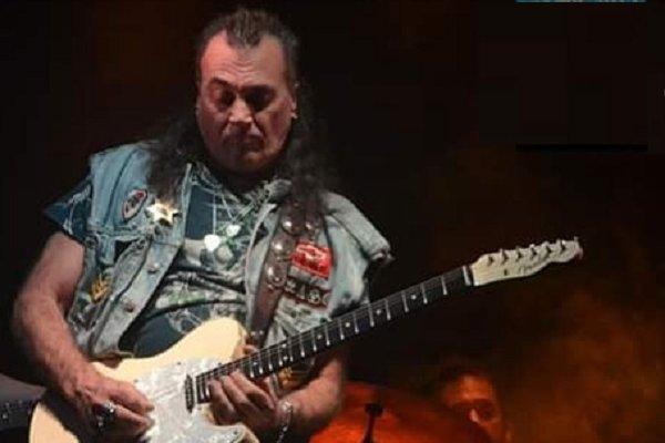 Falleció a los 58 años Gady Pampillón, ex guitarrista de Alakrán, La Torre y Tarzen