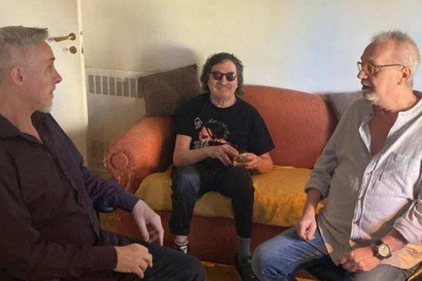 David Lebón y Pedro Aznar grabaron una versión de «San Francisco y el lobo» en homenaje a Charly García