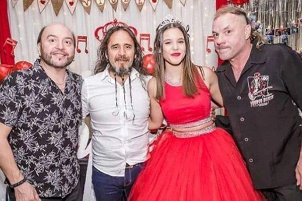 La Renga sorprendió tocando en vivo en el cumpleaños de 15 de la sobrina de Chizzo