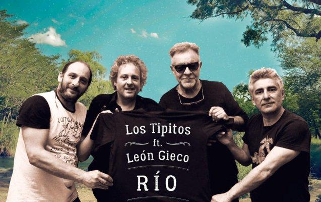 Los Tipitos presentan la reversión de «Río», con la participación de León Gieco