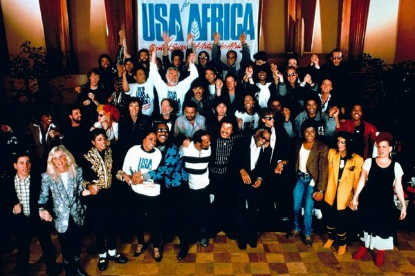 Se cumplen 35 años de la grabación del himno «We Are the World»