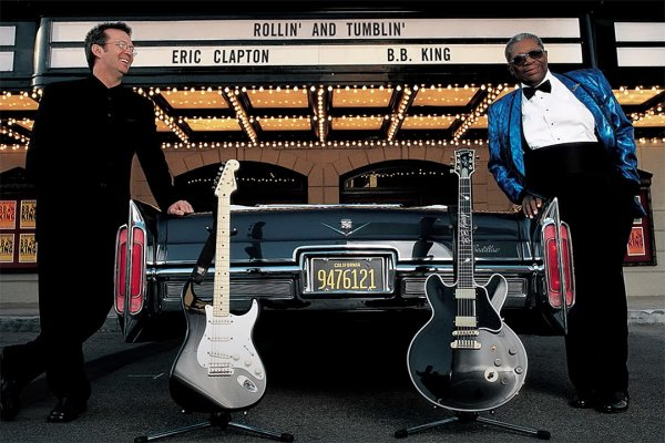 Eric Clapton compartió una grabación inédita con B.B. King