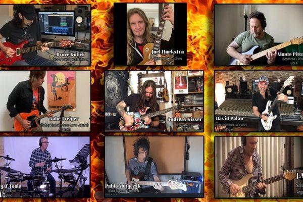 El argentino Gabe Treiyer convocó a músicos de Kiss, Sepùltura y Whitesnake para grabar un cover de The Police con fines benéficos