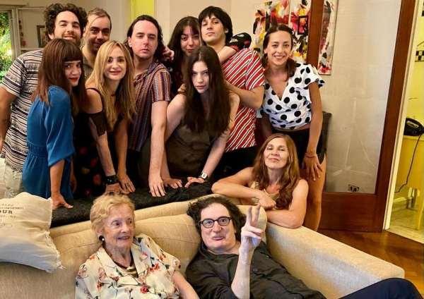 Charly García pasó la Nochebuena con la familia de Gustavo Cerati