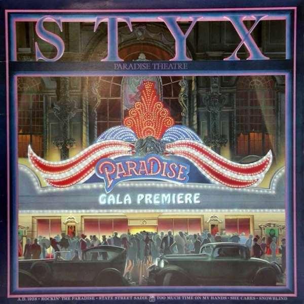 Cumple 40 años «Paradise Theatre», el exitoso disco conceptual de Styx
