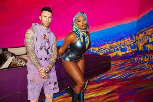 Maroon 5 estrena el video de «Beautiful Mistakes», su colaboración con Megan Thee Stallion