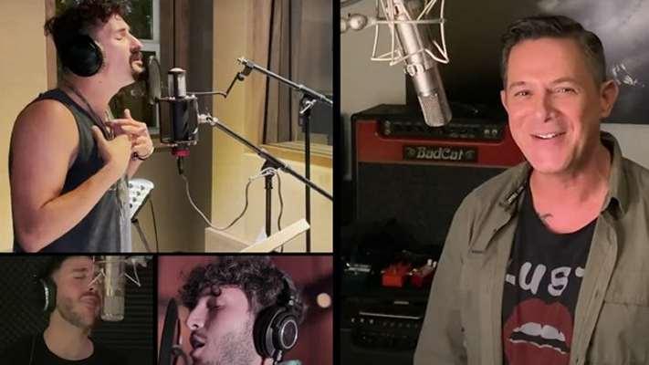 Brian May, Calamaro, Messi, Nadal, Simeone y Lerner, juntos en una nueva versión benéfica del «Himno a la Alegría»