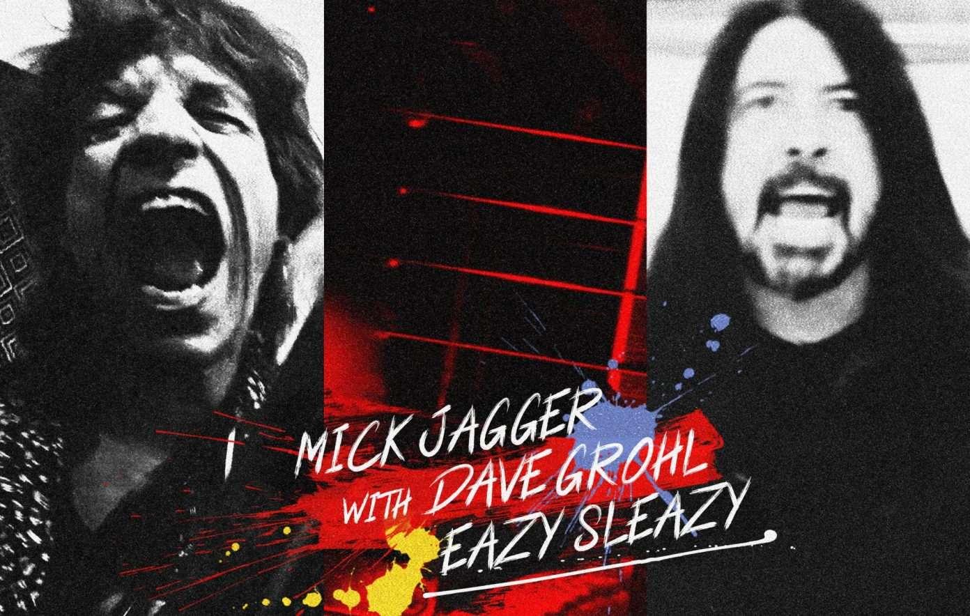 Mick Jagger y Dave Grohl lanzan por sorpresa el single conjunto «Eazy Sleazy»