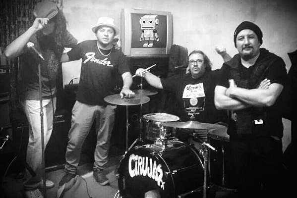 La banda villense Cirujas prepara el lanzamiento de su segundo disco